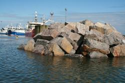 Peterhead breakwater