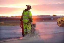 Aberdeen runway marking