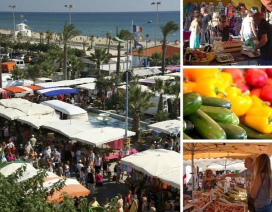 Le marché de Saint Cyprien