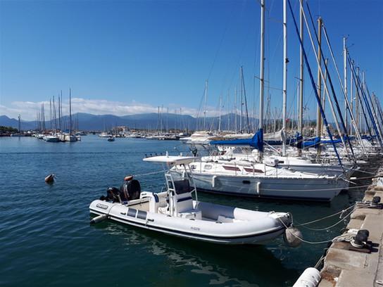 Le port de Saint Cyprien