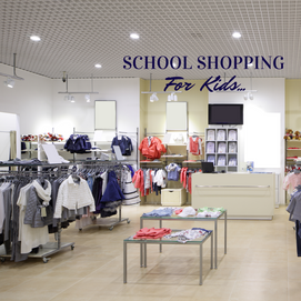 School Shopping for kids - What do you do!