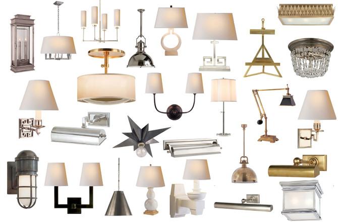 Классические светильники Visual Comfort