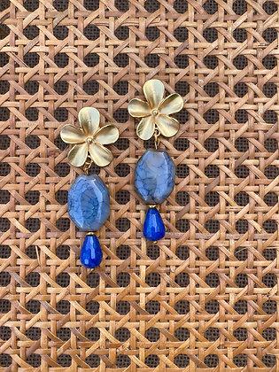 Pendientes Gotas Azules