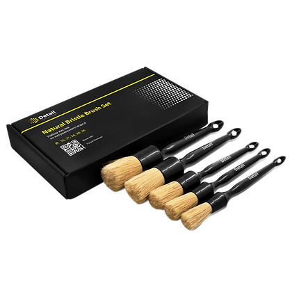 Natural Bristle Brush Set