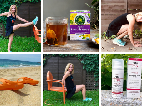 Betty's Favorite Summer Travel Exercise, Stretches and Must Haves