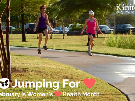 We're Jumpin' for Women's Heart Health!