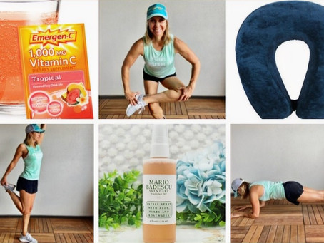 Jill's Favorite Summer Travel Exercise, Stretches and Must Haves