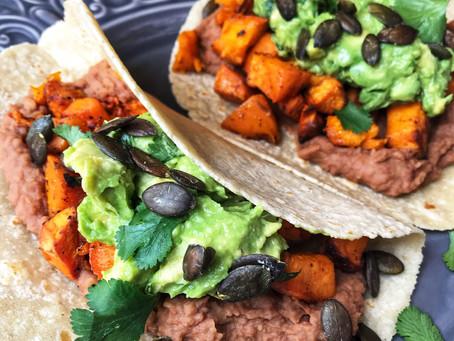 Sweet Potato Tacos - iGnite Your Tastebuds!