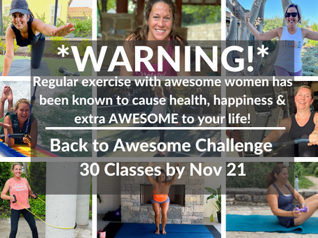 Fall 2021: 'Back to Awesome' Challenge