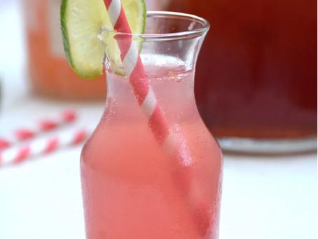 iGnite's Signature Summer Cocktail: Cranberry Water + Grapefruit Vodka Mixer