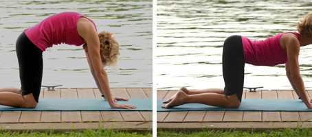 Four Yoga Poses for Summer Travel and Life