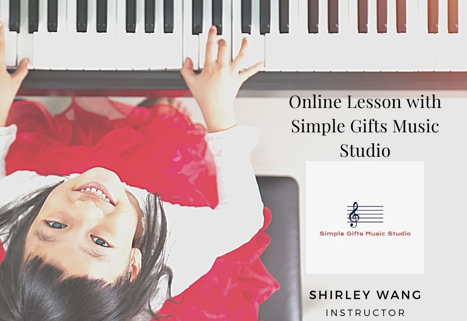 Online Lesson with Simple Gifts Music St