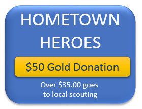 $50 Hometown Hero Gold Donation