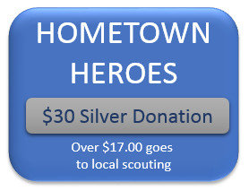 $30 Hometown Hero Silver Donation