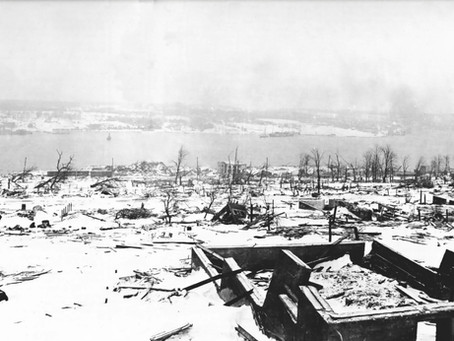 Today Marks 103 Years Since the Original Largest Man-Made Explosion in History,The Halifax Explosion