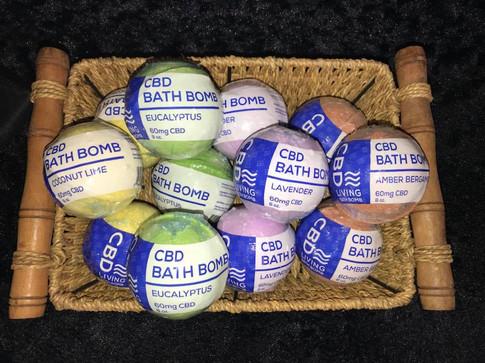 CBD Living Bathbombs