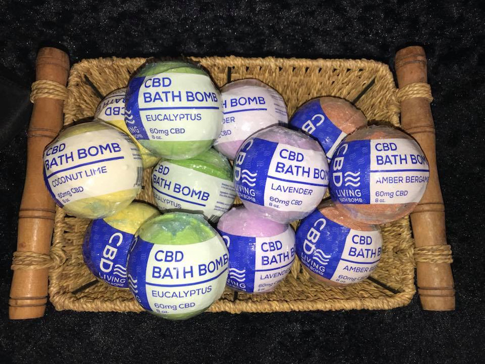 CBD Living Bathbombs