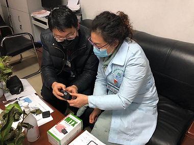 checking sypmtomps of corona