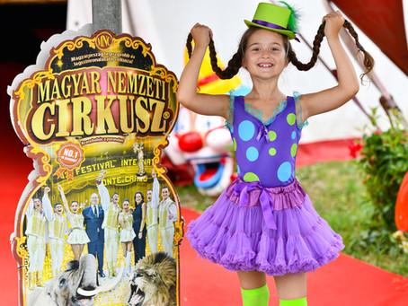 Ne felejts el gyerek lenni!-A Magyar Nemzeti Cirkusszal ünnepeltünk