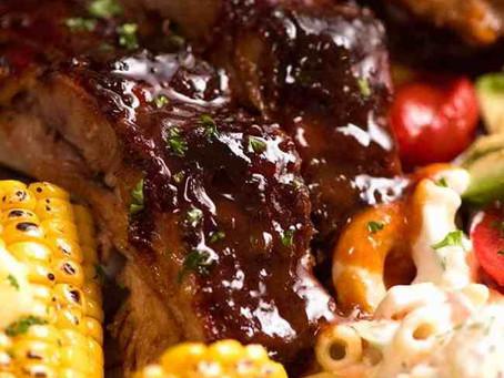 BBQ Pork Spare Ribs🍖