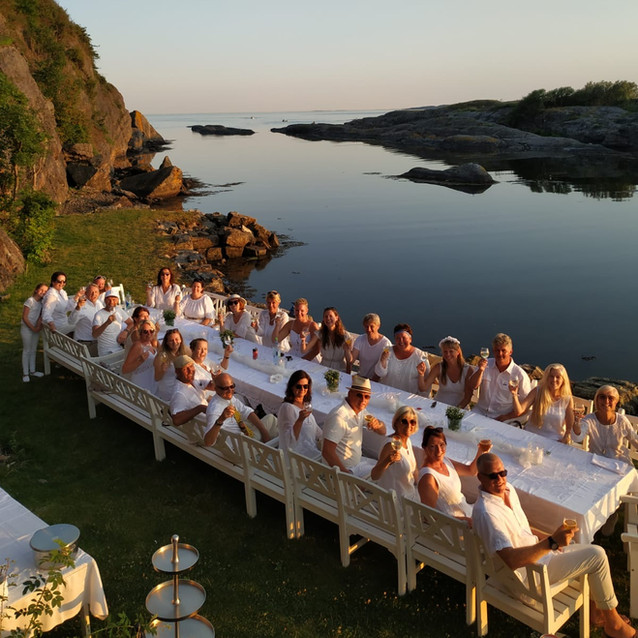 White Party at private beach