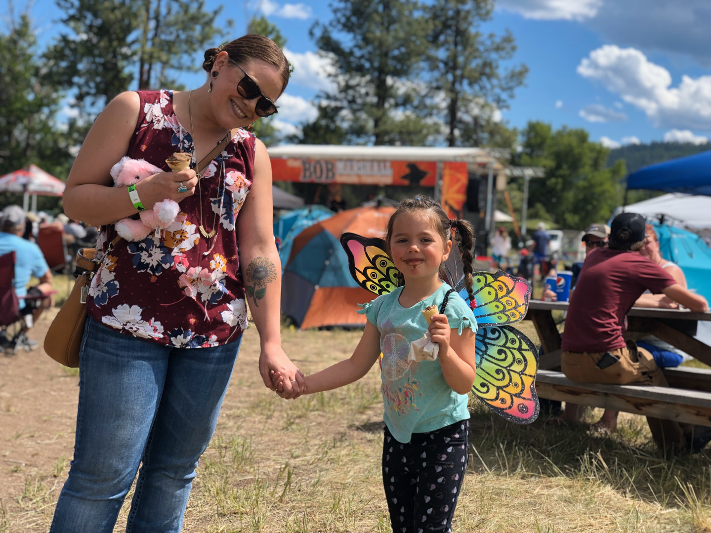 Ice Cream and Butterfly Wings