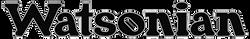 Watsonian Logo 4