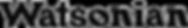Watsonian Logo sw