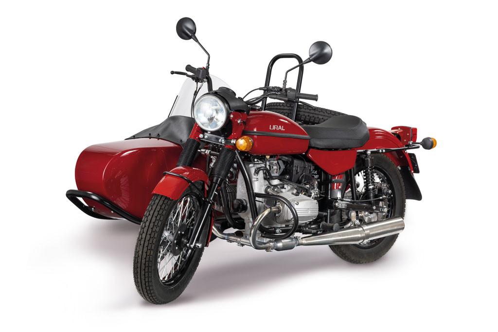 Ural Classic Kirschrot 2F