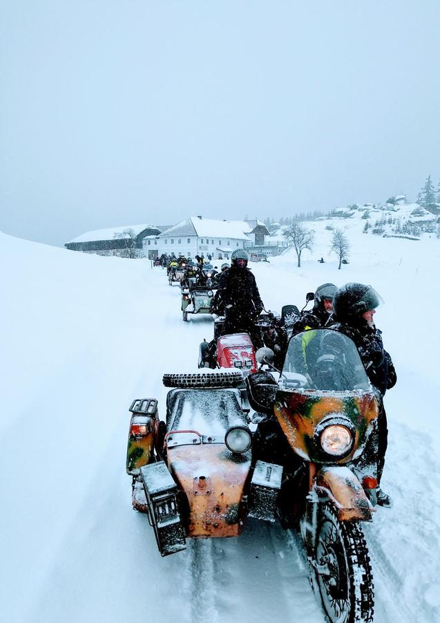Ural Wintertreffen Prandegg 3