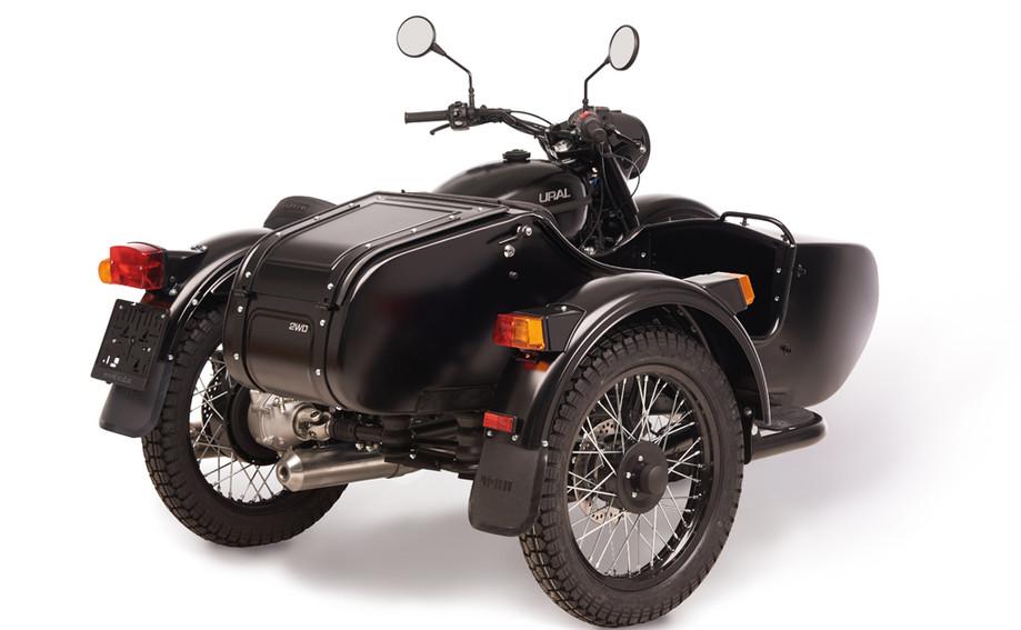 Ural T TWD schwarz