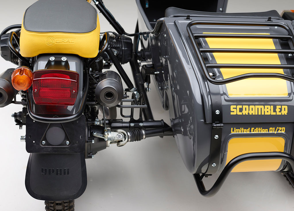 4 Ural Scrambler
