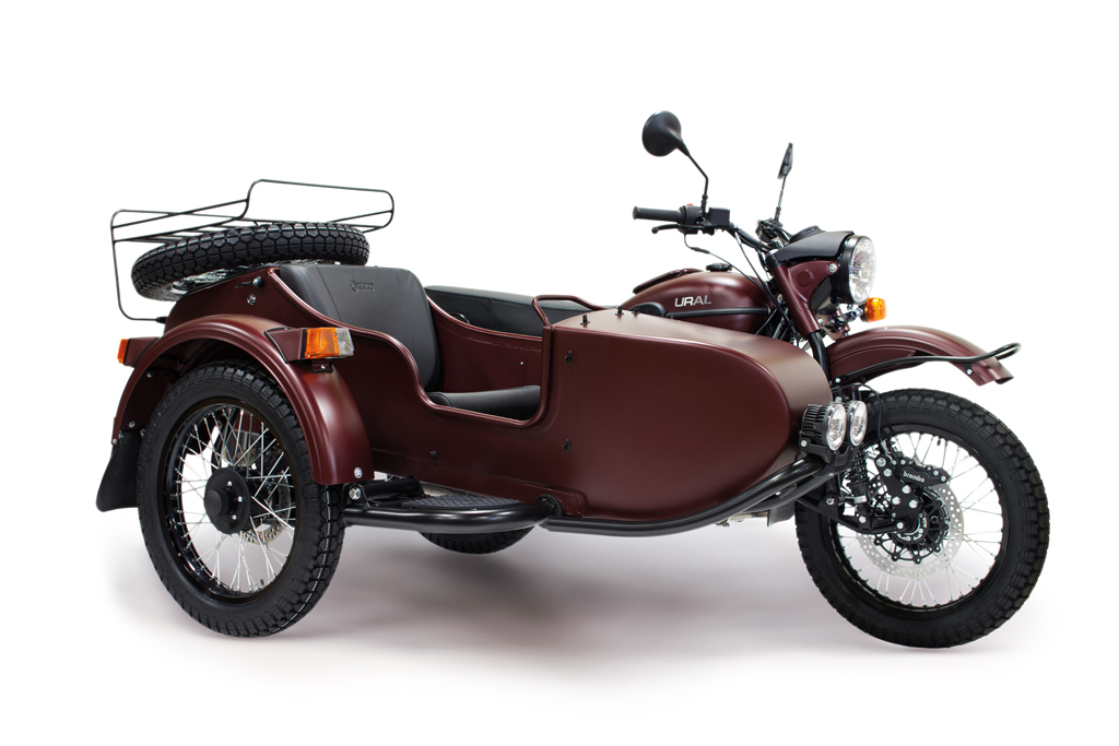 Ural Tourist Burgundy