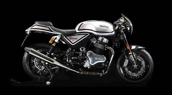 Norton Commando Café Racer, Black Line