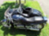 Suzuki mit Watsonian Beiwagen
