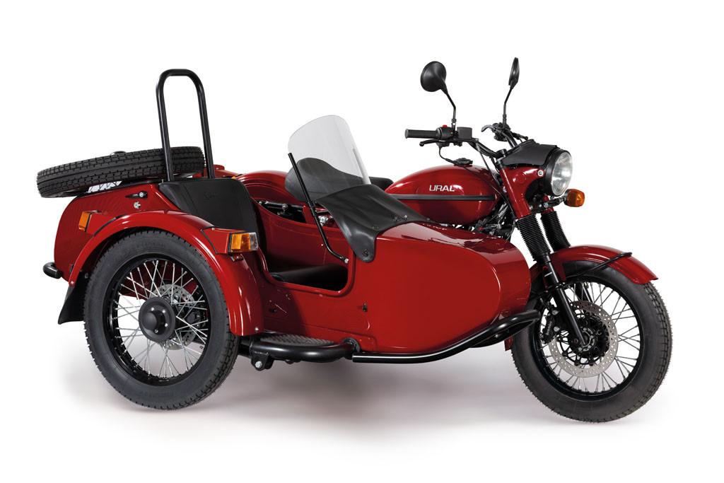 Ural Classic Kirschrot 8F