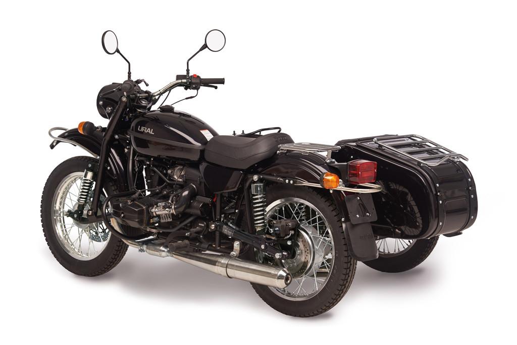 Ural cT black metalic5