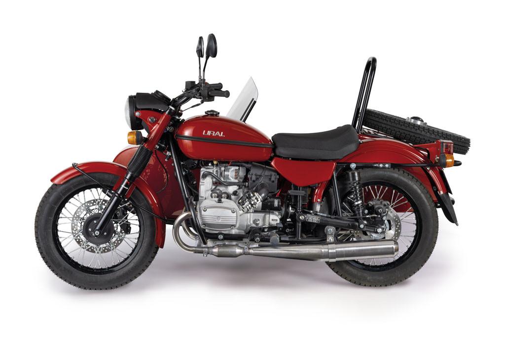 Ural Classic Kirschrot 3F