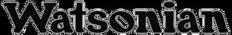 Watsonian Logo 3