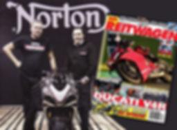 Norton PR Reitwagen 03-2019