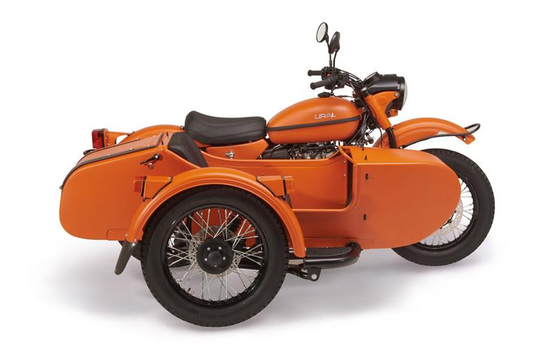 Ural Outback Orange 2