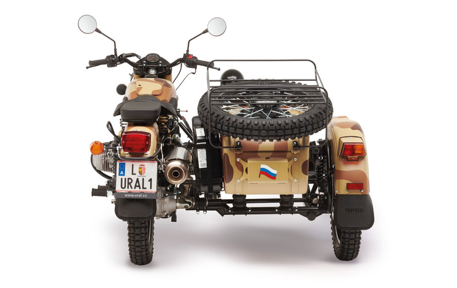 Ural Ranger Sand camouflage 4