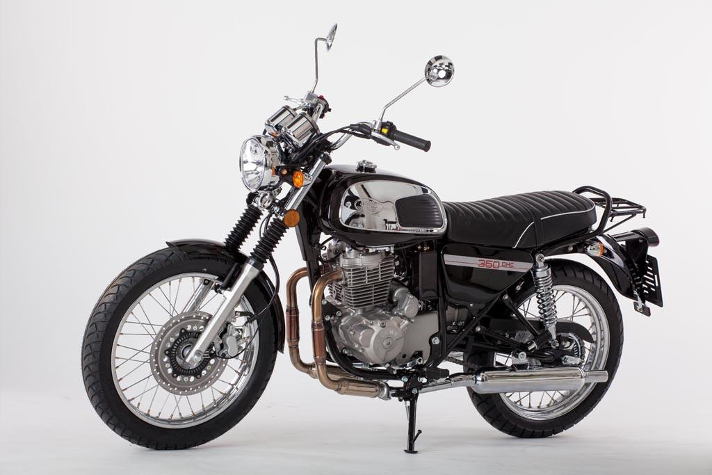Jawa 350 OHC Black 2