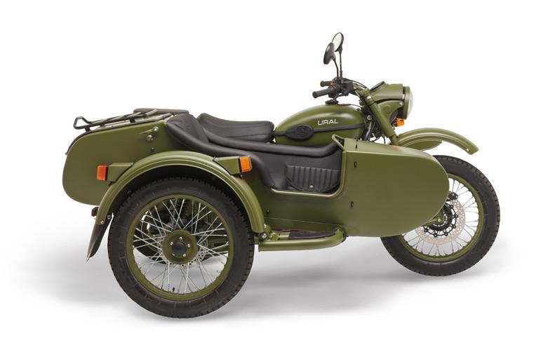 Ural T TWD Jagergrün 2