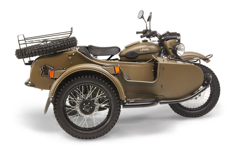 Ural Ranger Olive green 2