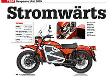 Motorrad News - Stromwärts 2019