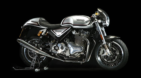 Norton Commando Café Racer, Polished Line