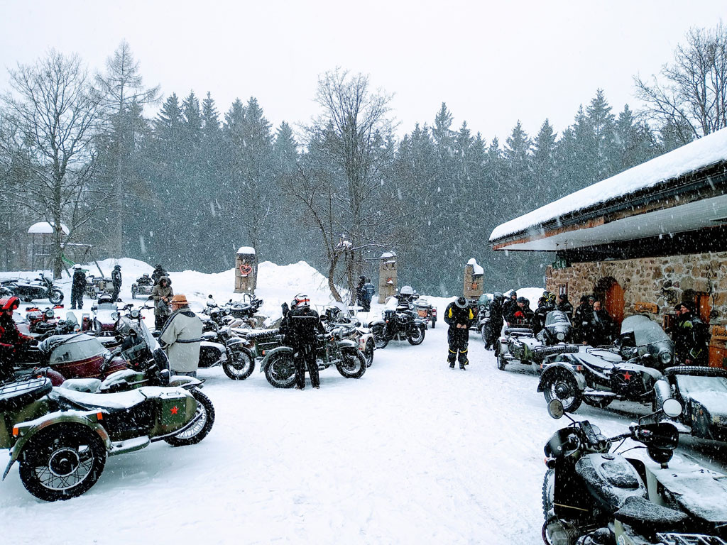 Ural Wintertreffen Prandegg 2