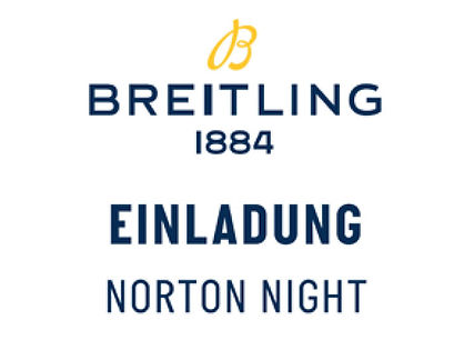 Einladung Breitling Norton Night
