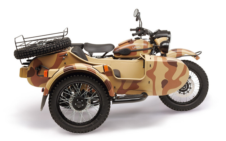 Ural Ranger Sand camouflage 2